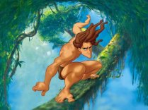 Go Tarzan! Whip around the jungle like you mean it!